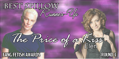Best Spillow Runner Up ~ The Price of a Kiss