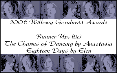Best Willow-Fic of All Time Runner Up ~ Eighteen Days