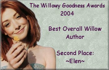 2nd place Best Overall Willow Author